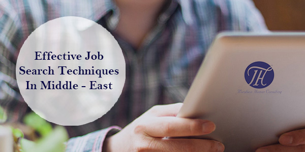 How to Search Job Effectively in Middle-East