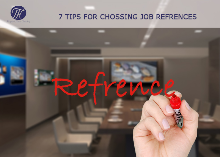 7 Tips for Chossing Job Refrences