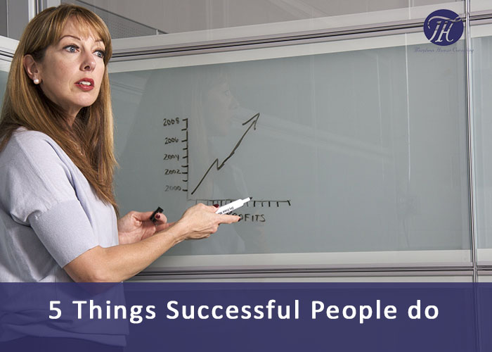 things succesfull people do