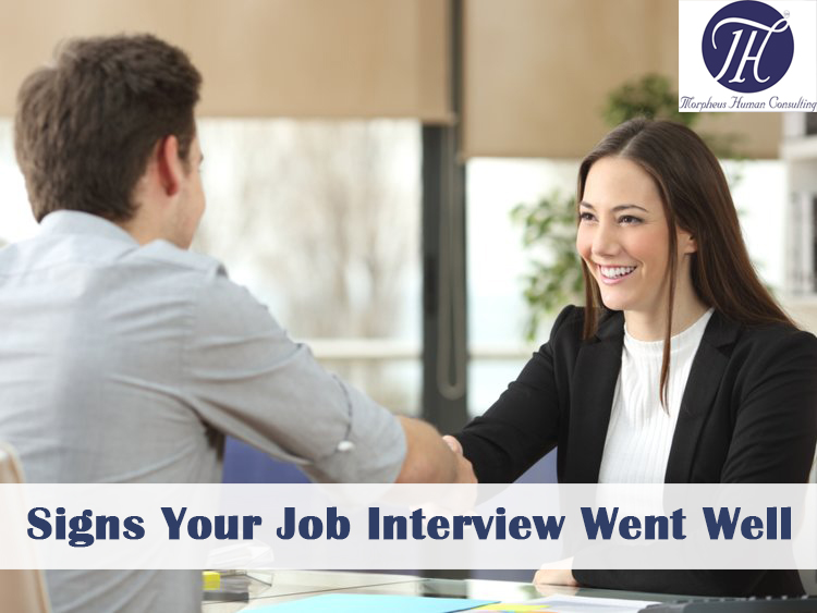 top 10 signs your job interview went well